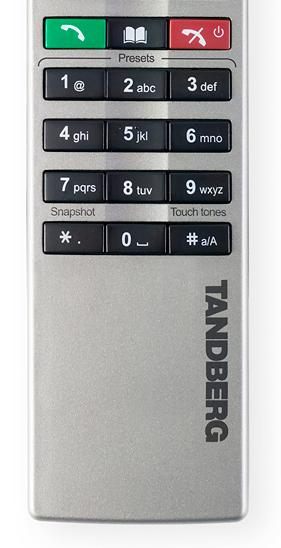 Tandberg Remote Bottom